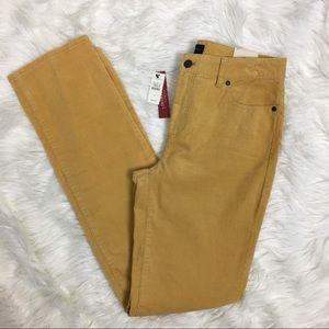 Talbots Heritage Straight Leg Corduroy Pants Sz 6
